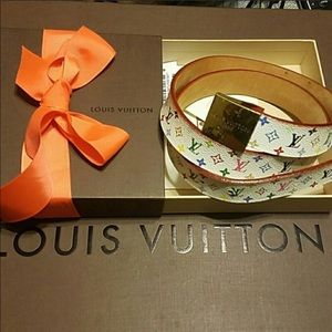 Louis Vuitton Multicolored Belt